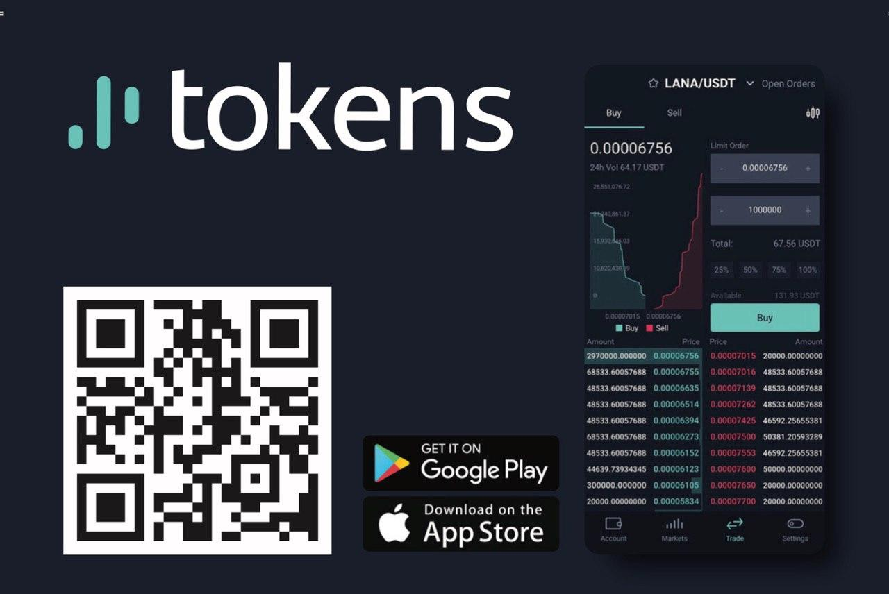 LanaCoin on Tokens.net