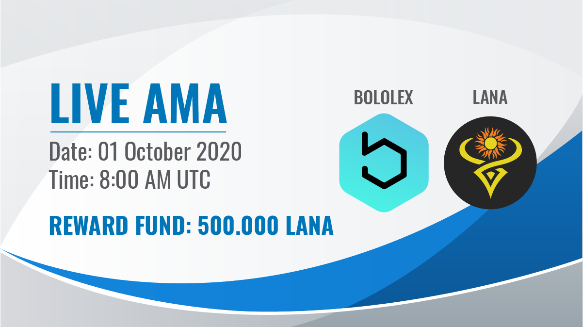 Full Bololex & LanaCoin #AMA (all questions)