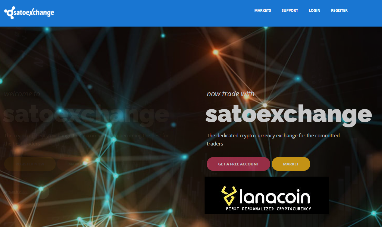 LanaCoin listed for VOTING on SATOEXCHANGE