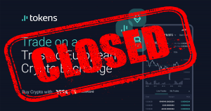 TOKENS.net is closing the EXCHANGE