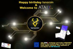 LanaCoin 5th Birthday and new listing on ATAIX exchange